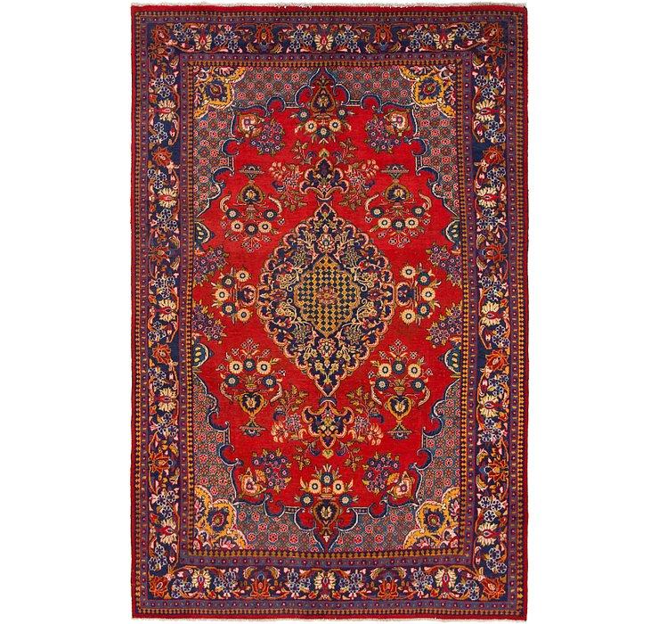 218cm x 340cm Golpayegan Persian Rug