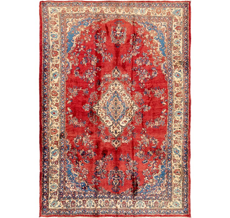7' x 10' 2 Shahrbaft Persian Rug
