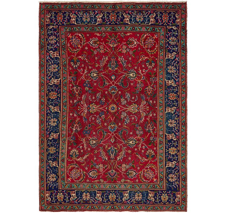 7' 9 x 11' 2 Tabriz Persian Rug