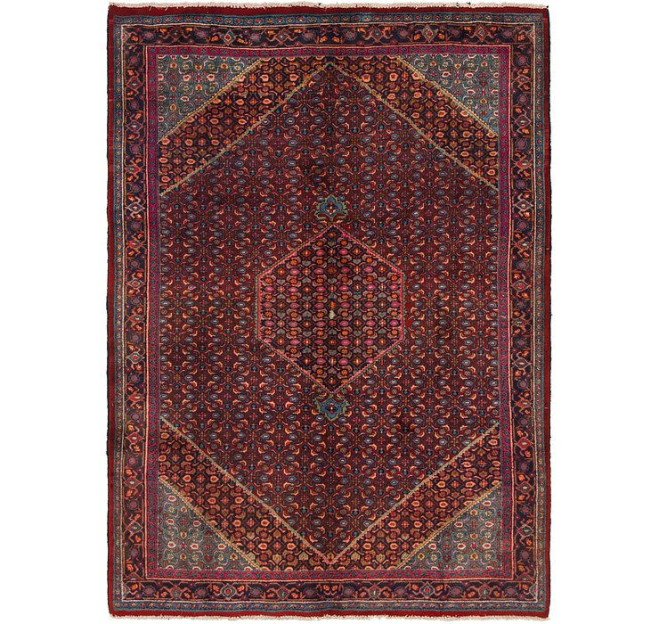 6' 10 x 9' 4 Gholtogh Persian Rug