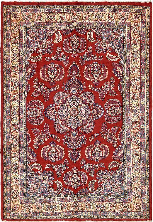 Red 7 2 X 10 2 Shahrbaft Persian Rug Persian Rugs