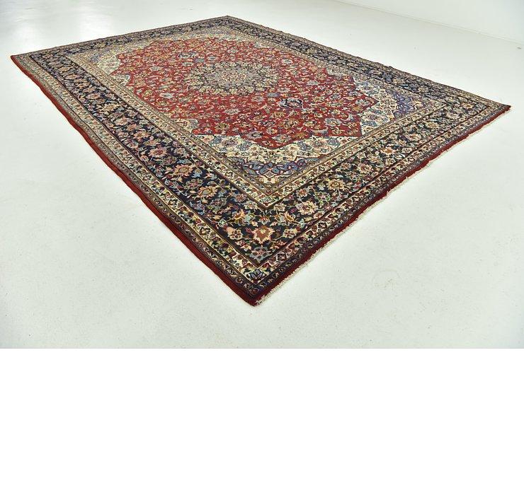 9' 10 x 13' 1 Isfahan Persian Rug