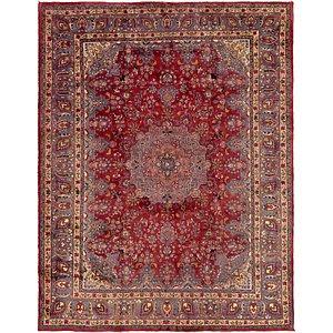 HandKnotted 9' 8 x 12' 8 Mashad Persian Rug