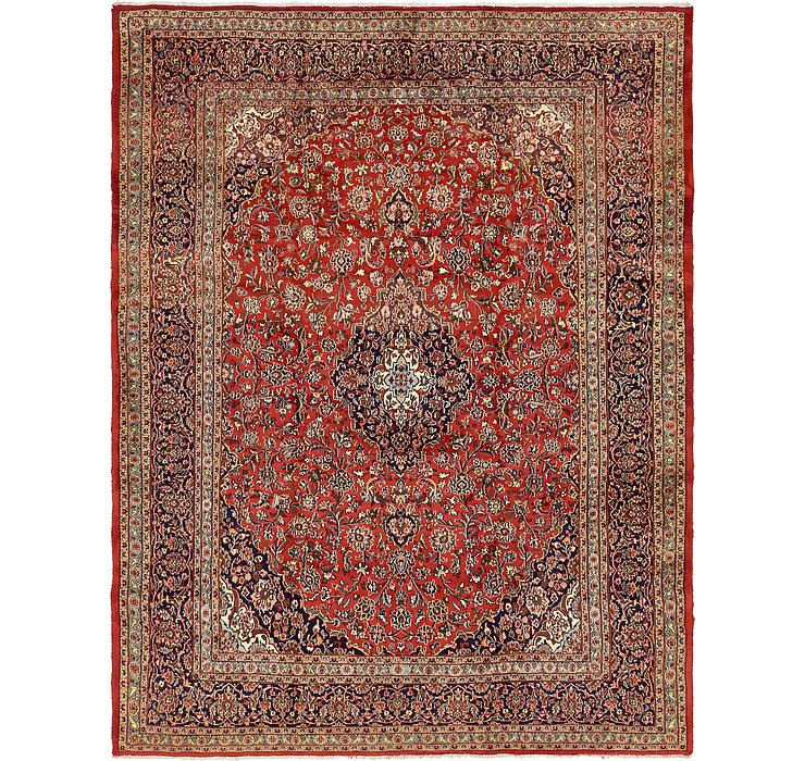 HandKnotted 9' 9 x 12' 7 Mashad Persian Rug