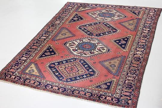 Peach 7 5 X 10 1 Ardabil Persian Rug Persian Rugs