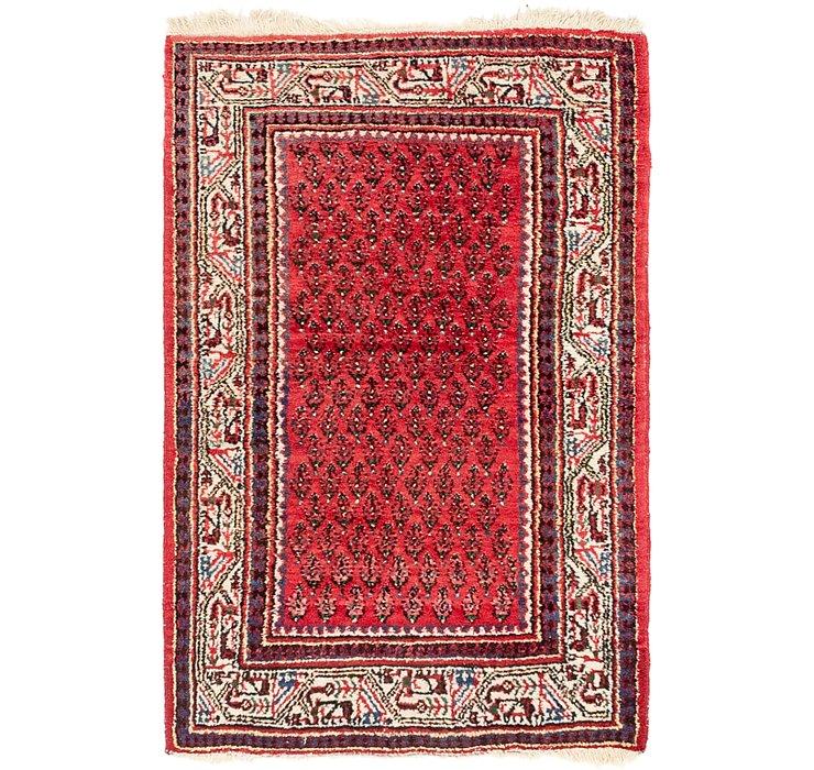 2' 9 x 4' 5 Mir Persian Rug
