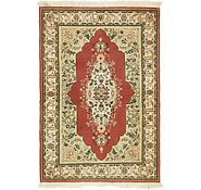 Link to 3' 4 x 4' 10 Kerman Persian Rug