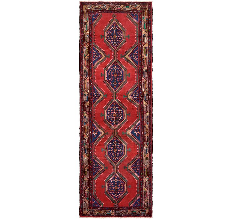 3' 7 x 10' 5 Chenar Persian Runner Rug