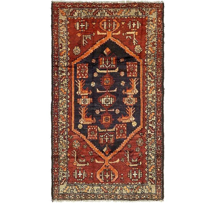 3' 9 x 7' Zanjan Persian Runner Rug