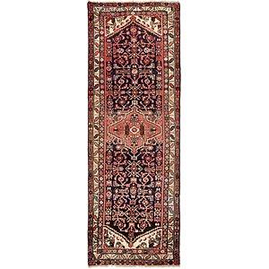 3' 7 x 10' Zanjan Persian Runner Rug