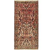Link to 3' 8 x 7' 7 Hamedan Persian Runner Rug