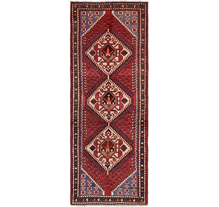 3' 5 x 9' 9 Shiraz Persian Runner Rug
