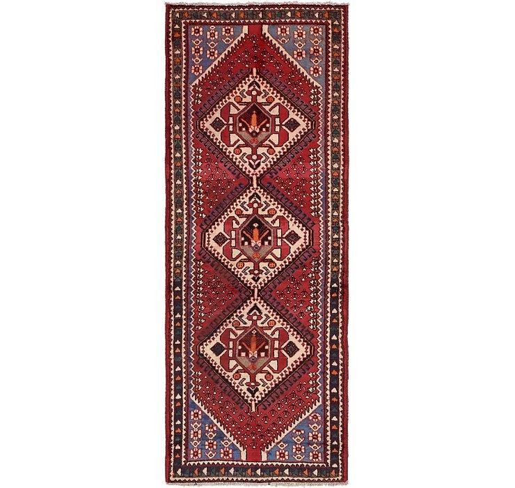 3' 5 x 9' 9 Shiraz Persian Runner Rug