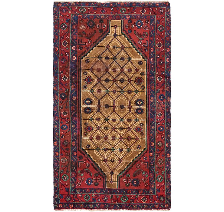 3' 9 x 7' Koliaei Persian Rug