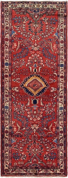 Red 3 6 X 9 4 Borchelu Persian Runner Rug Persian Rugs