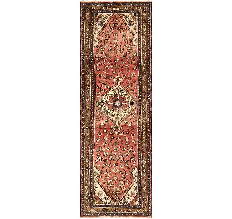 3' 6 x 10' 8 Hamedan Persian Runner ...