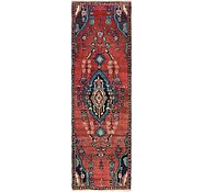 Link to 2' 9 x 9' 2 Hamedan Persian Runner Rug