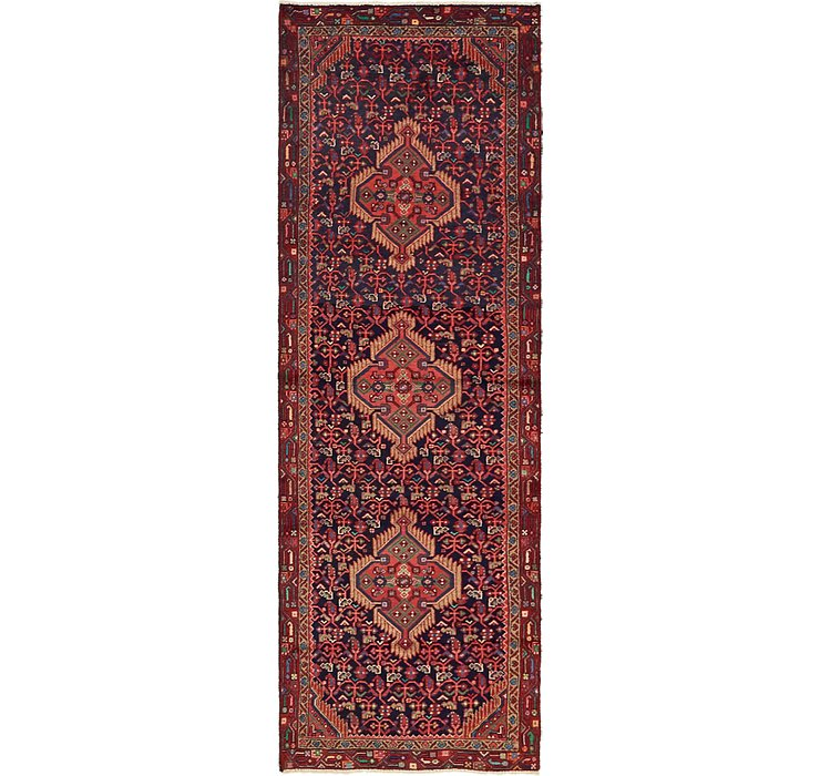 3' x 9' 5 Darjazin Persian Runner...