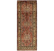Link to 3' 6 x 9' Hamedan Persian Runner Rug
