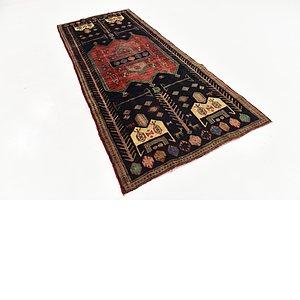 4' x 9' 6 Sirjan Persian Runner Rug