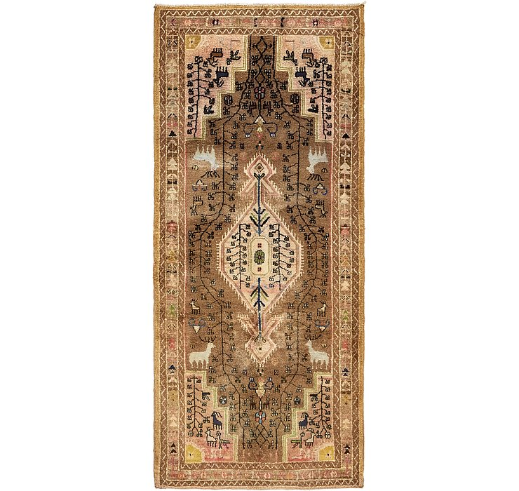 3' 10 x 8' 5 Hamedan Persian Runner ...
