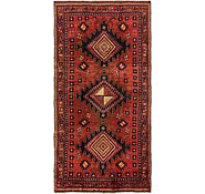 Link to 4' 10 x 9' 9 Hamedan Persian Runner Rug