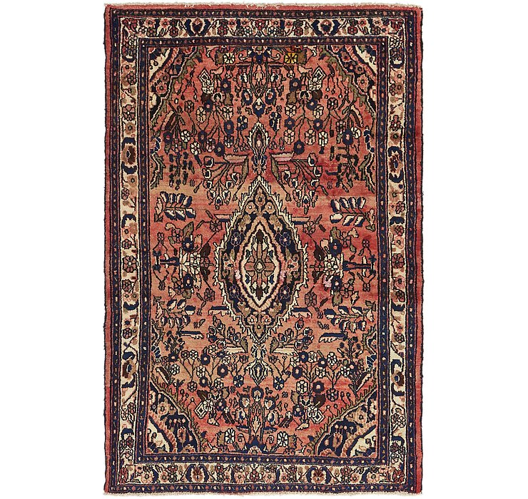 HandKnotted 4' 4 x 6' 7 Hossainabad Persian Rug