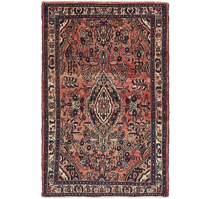4' 4 x 6' 7 Hossainabad Persian Rug