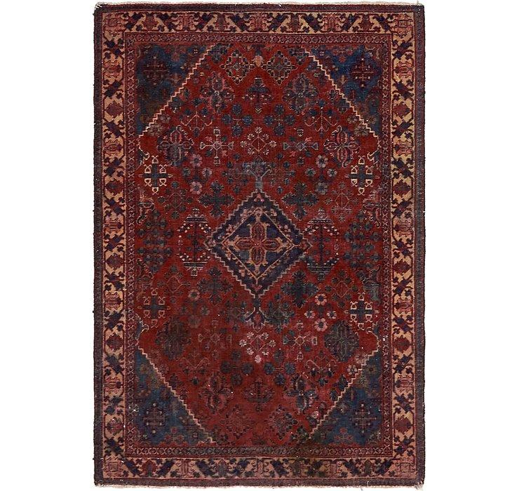 132cm x 195cm Joshaghan Persian Rug