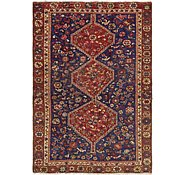 Link to 4' 6 x 6' 6 Shiraz Persian Rug