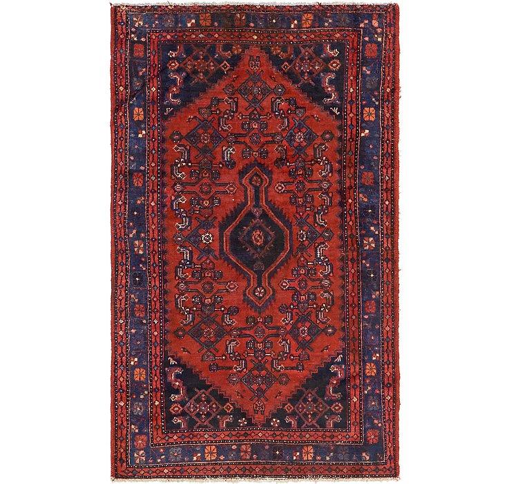 4' 2 x 7' 3 Zanjan Persian Rug