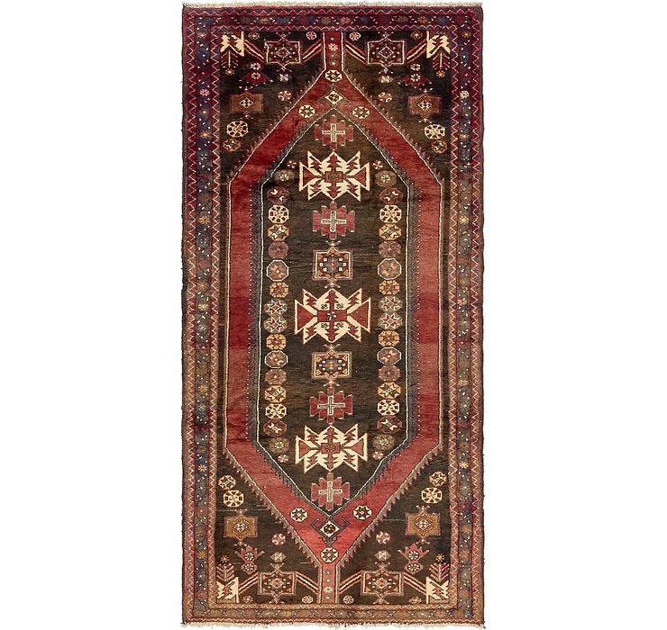 3' 9 x 8' 8 Mazlaghan Persian Runne...