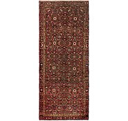 Link to 3' 6 x 8' 6 Hossainabad Persian Runner Rug