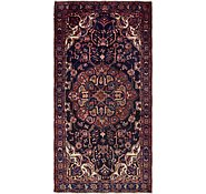 Link to 4' x 8' 7 Hamedan Persian Runner Rug