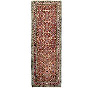 Link to 3' 10 x 11' Hamedan Persian Runner Rug