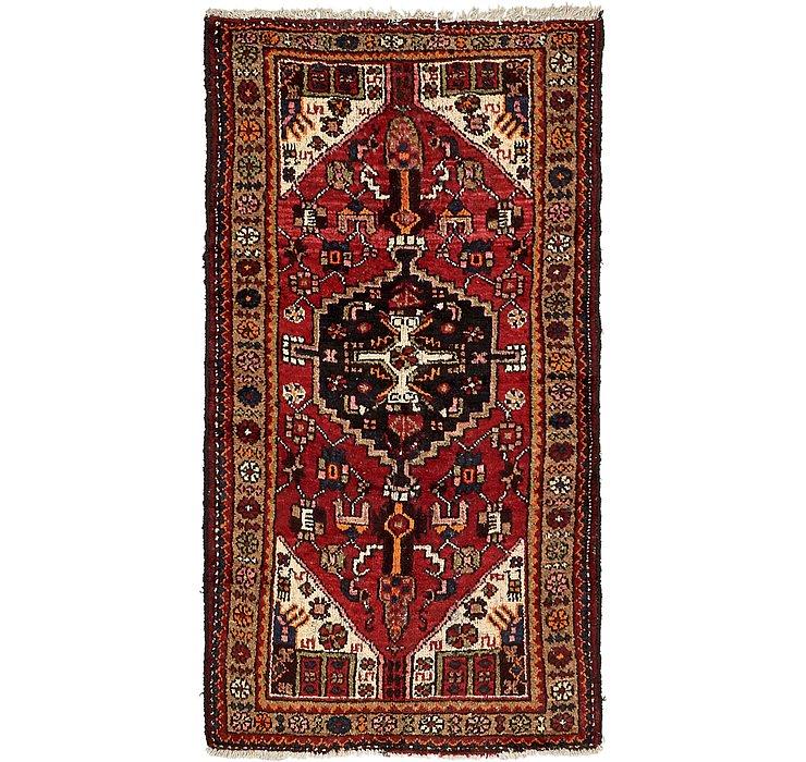 105cm x 193cm Hamedan Persian Rug