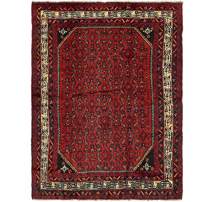 4' 10 x 6' 4 Hossainabad Persian Rug