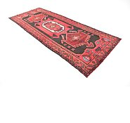 Link to 4' 3 x 11' 3 Hamedan Persian Runner Rug