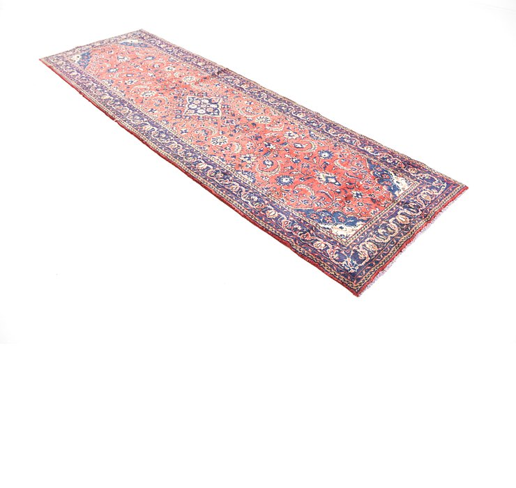 3' 3 x 10' 7 Sarough Persian Runner ...