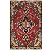 Link to 3' x 4' 6 Tabriz Persian Rug