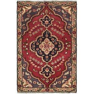 HandKnotted 3' x 4' 6 Tabriz Persian Rug
