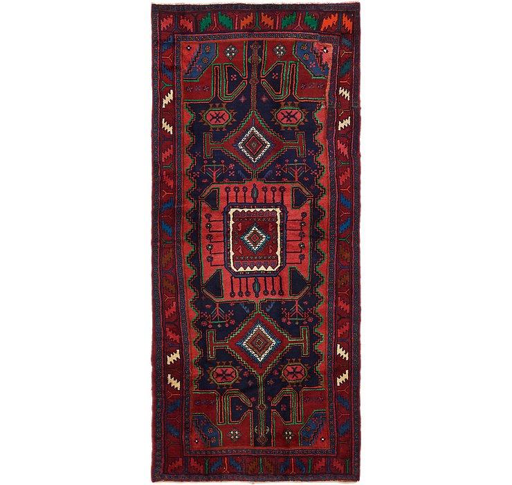4' 2 x 10' Zanjan Persian Runner Rug