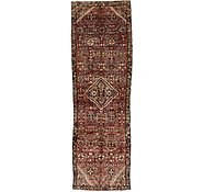 Link to 110cm x 360cm Hossainabad Persian Runner Rug