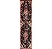 Link to 80cm x 307cm Hamedan Persian Runner Rug