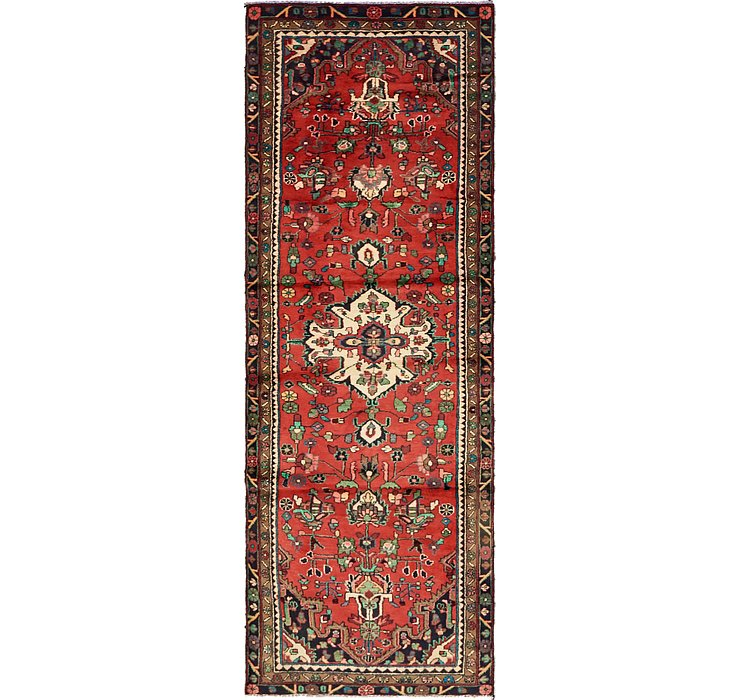 3' 3 x 9' 8 Khamseh Persian Runner ...