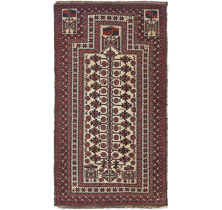 3' 1 x 5' 5 Balouch Persian Rug