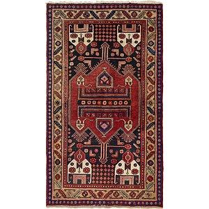 4' 6 x 8' 2 Hamedan Persian Rug