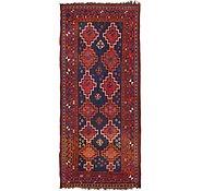 Link to 4' 5 x 10' Shiraz Persian Runner Rug
