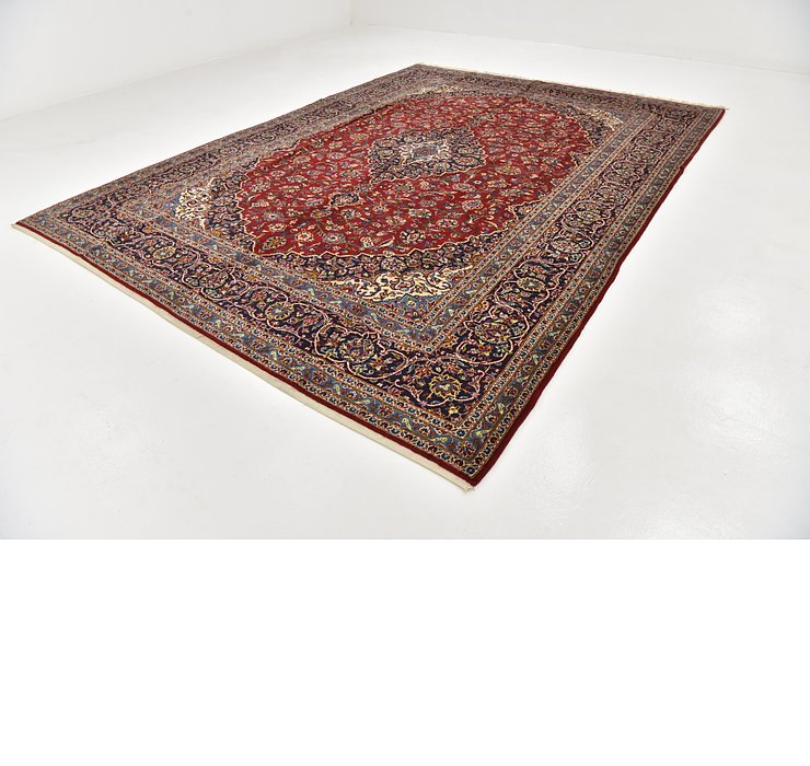 HandKnotted 9' 10 x 13' 3 Kashan Persian Rug