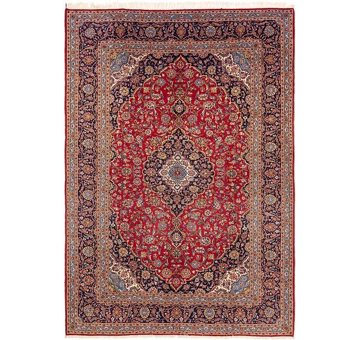 9' 2 x 13' 2 Kashan Persian Rug